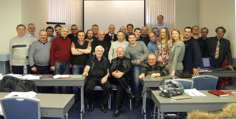 снимок участников на память