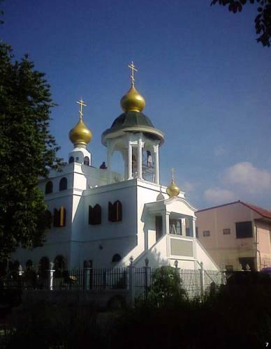 храм всех святых в селе всесвятском чолбургской губернии, сиам