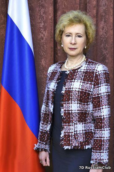 Л.Г.Воробьева - посол Россiи в Индонезiи
